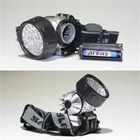 Stirn- oder Helmlampe mit 28 LEDs
