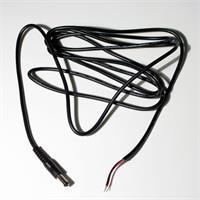 Anschlusskabel mit DC Stecker und offenen Kabelenden