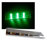 4er SET LED Glasbodenbeleuchtung 66mm grün
