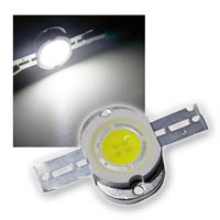 1 LED chip 5W high power pure white