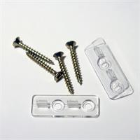 Transparenter Montage-Clip für Aluminium- Profile