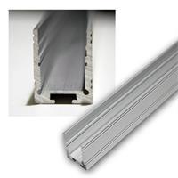 LED aluminum u-profile high for LED stripes, 1m