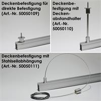 Eloxiertes Aluminium-Profil für LED-Streifen