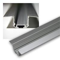 LED aluminum T profile for LED stripes, 1m