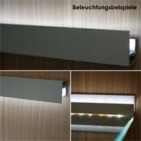 Eloxiertes Alu-Profil in 1m länge als Blende für LED-Streifen