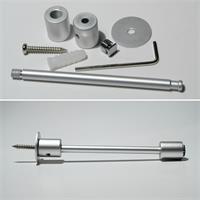 Deckenabstandhalter für Aluminium-Profile