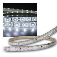5m Flex SMD Stripe LED IP65 kalt-weiß / PCB-weiß