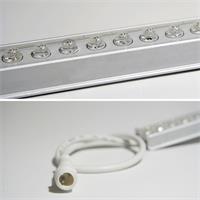 LED  Leiste 12V IP65 mit dem Maß 500mmx24mmx10mm (LxBxH) und 25cm Anschlusskabel beidseitig