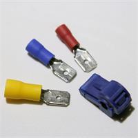 Quick Klemmverbinder mit integrierter Buchse für Flachstecker