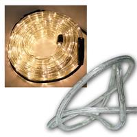 LED Lichtschlauch 10m, 240 LEDs warmweiß, IP44