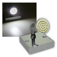LED Leuchte Montana 1x 60er SMDs kw Alu/Chrom