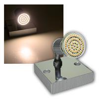 LED Leuchte Montana 1x 60er SMDs ww Alu/Chrom