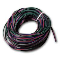 20m ring braid 4-wire for RGB LED, 0.14mm²