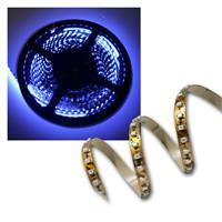 40cm FLEX SMD Streifen 48 LEDs blau BRAUN-PCB