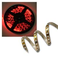 500cm FLEX SMD Streifen 600 LEDs rot BRAUN-PCB