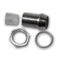 10 Metallfassungen Schraube für 5mm Standard LEDs