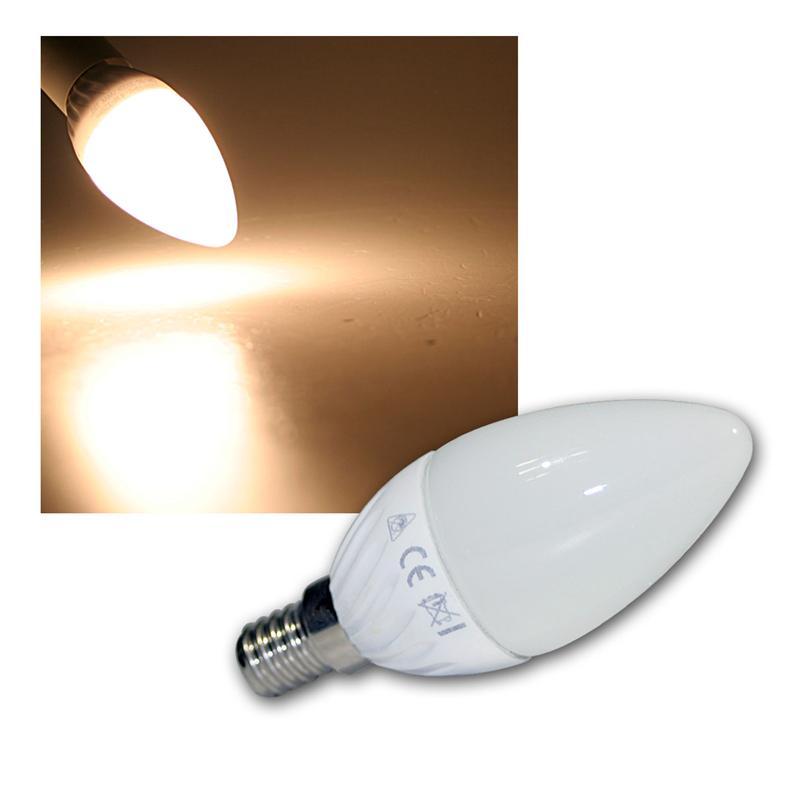 led kerzenlampe e14 k40 smd warmwei 320lm. Black Bedroom Furniture Sets. Home Design Ideas