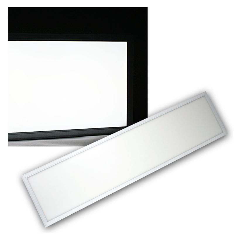 led panel 30x120cm daylightwei 50w 4000lm dimmbar. Black Bedroom Furniture Sets. Home Design Ideas