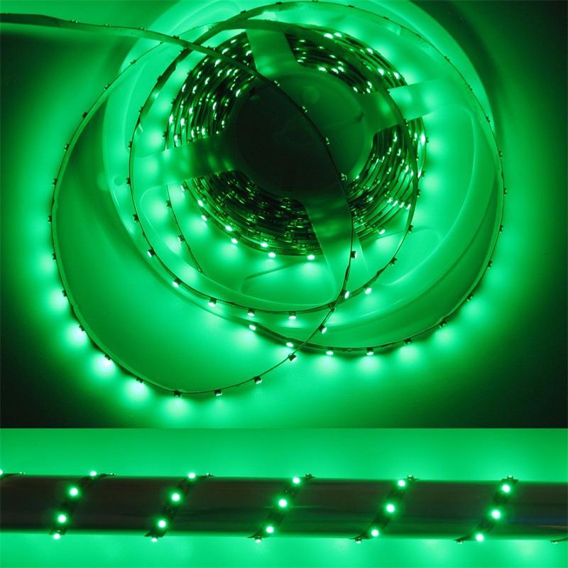 500cm SMD LED Streifen FLEXIBEL grün 12V DC