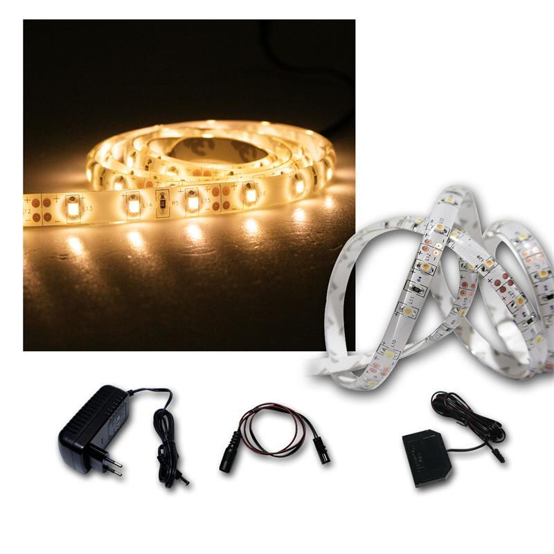 LED Lichtband Set 6x1m warmweiß + Trafo SMD-Stripe