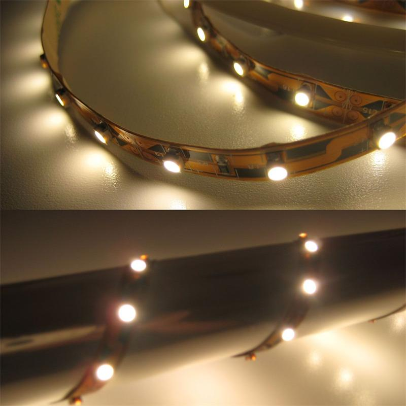100cm SMD LED Streifen FLEXIBEL warm-weiß 12V DC