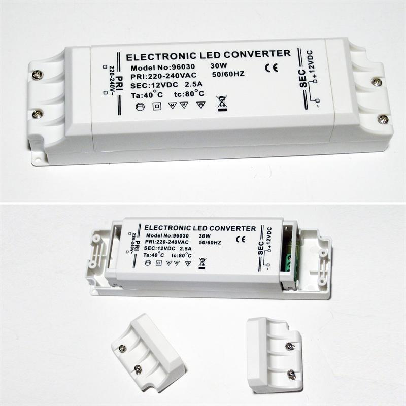 LED-Transformator | 12-80W | LED-Treiber |220-240V/12VDC