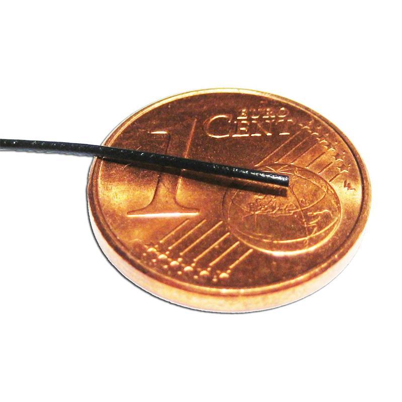 10m Litze flexibel grün 0,5mm/0,04mm²