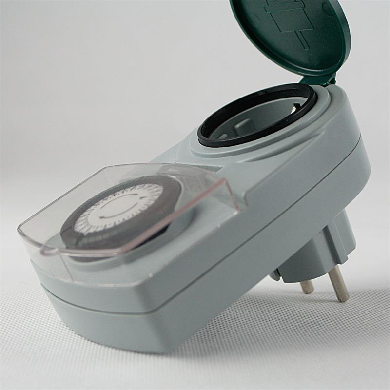 3er Pack Zeitschaltuhr Spritzwassergeschützt IP44
