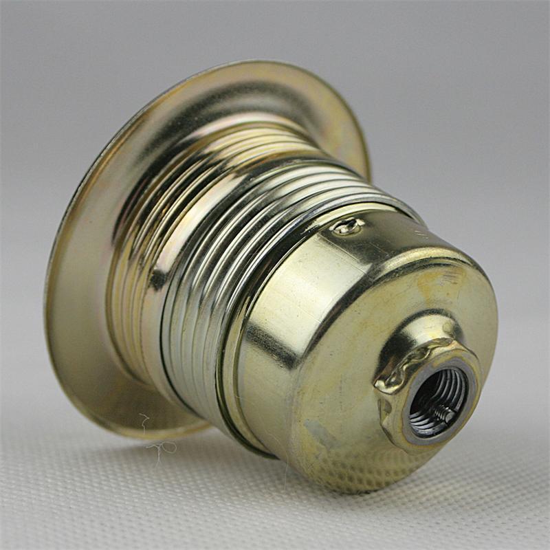 Hervorragend Metall-Fassung E27 Messing max 250V/4A, Gewinde WF61