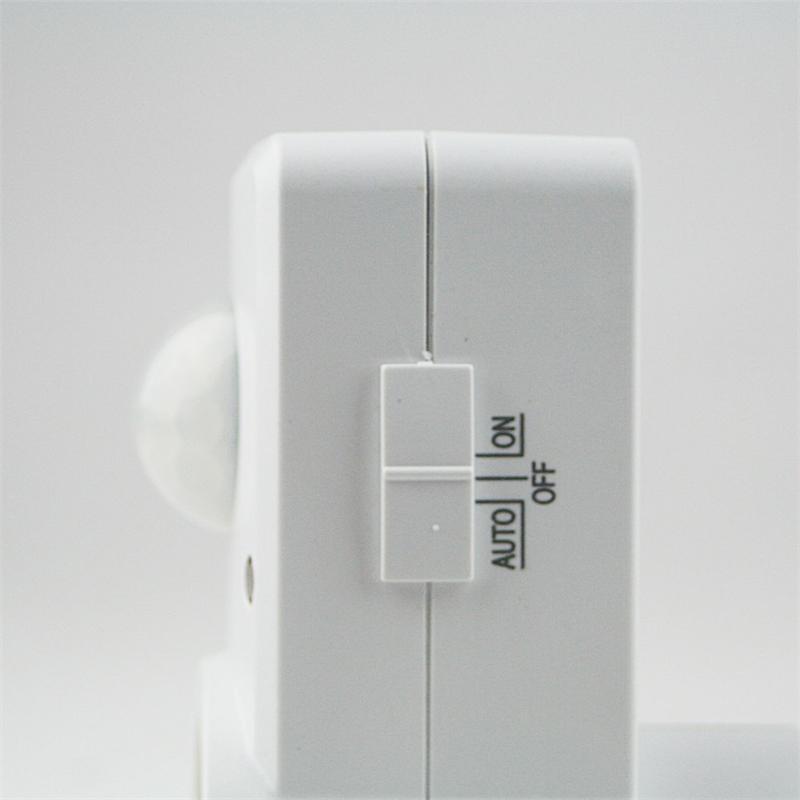 Zwischenstecker mit Bewegungsmelder 120° weiß 230V