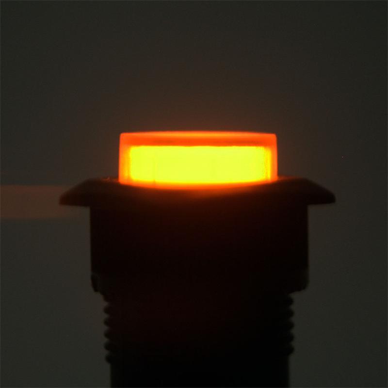 druckschalter mit led beleuchtung orange 1a 250v. Black Bedroom Furniture Sets. Home Design Ideas