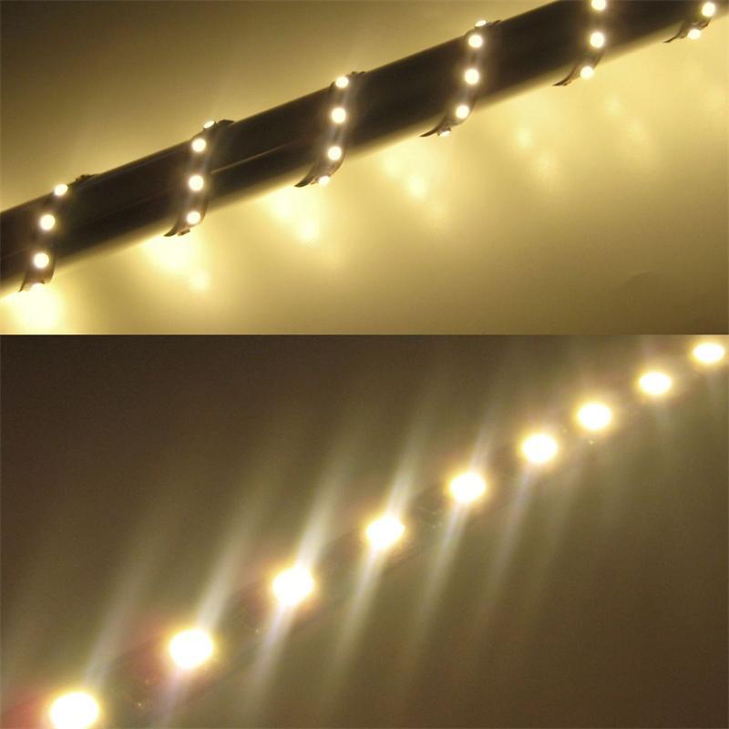 50cm smd led streifen flexibel warm wei 3 chip. Black Bedroom Furniture Sets. Home Design Ideas