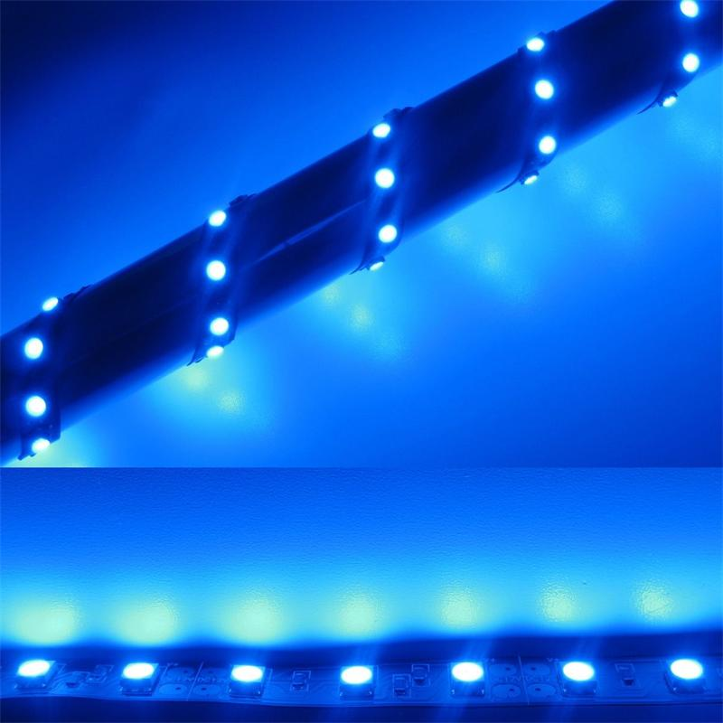 10cm smd led streifen flexibel blau 3 chip. Black Bedroom Furniture Sets. Home Design Ideas