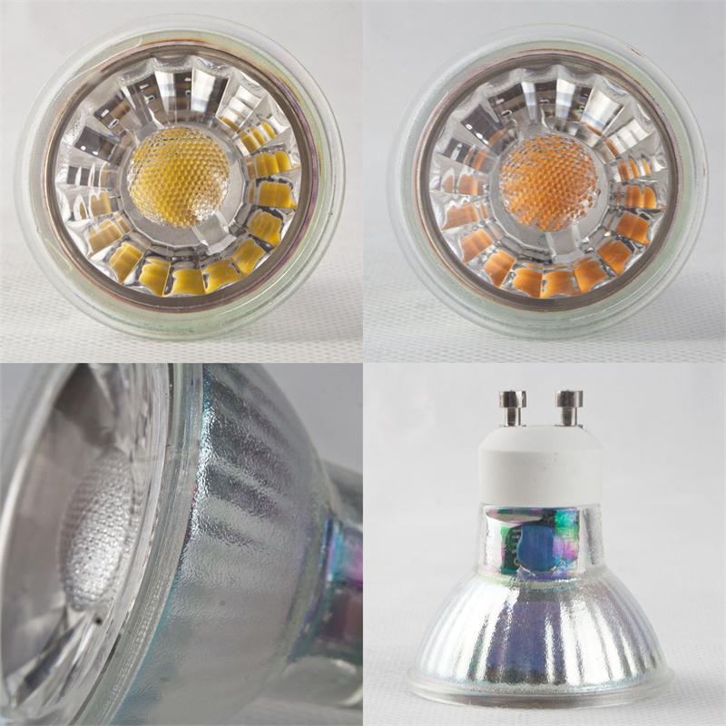 LED Strahler H35/50 COB | MR16/GU10 Leuchtmittel | 3/5W LED