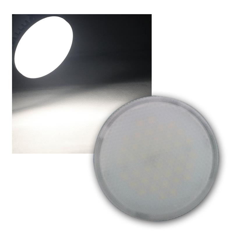 led leuchtmittel 230v 8w gx53 xh 60 daylight 580lm. Black Bedroom Furniture Sets. Home Design Ideas