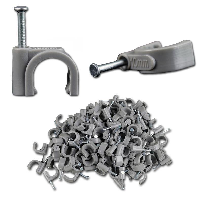 100xKabelschellen | für Kabeldurchmesser 4 bis 12mm