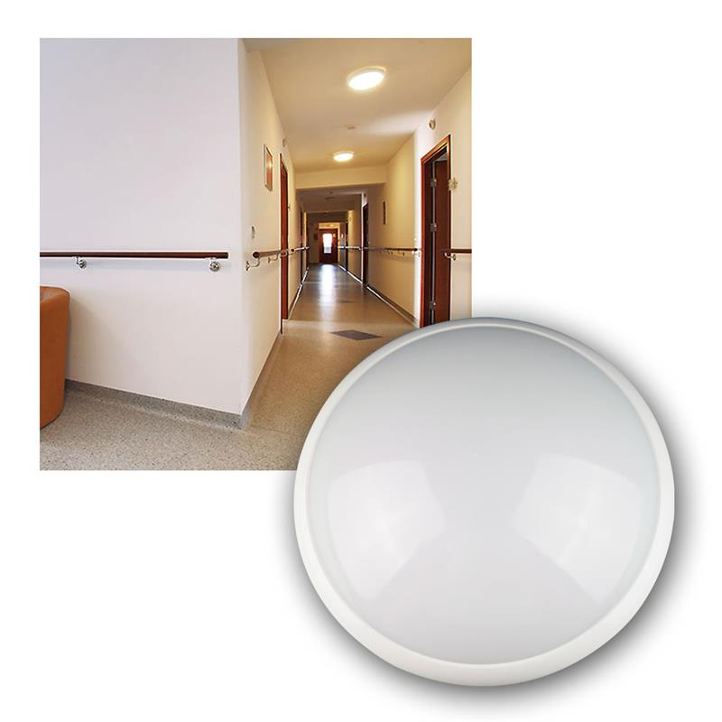 led deckenleuchte caldeira ip44 16w 1200lm hf pir. Black Bedroom Furniture Sets. Home Design Ideas