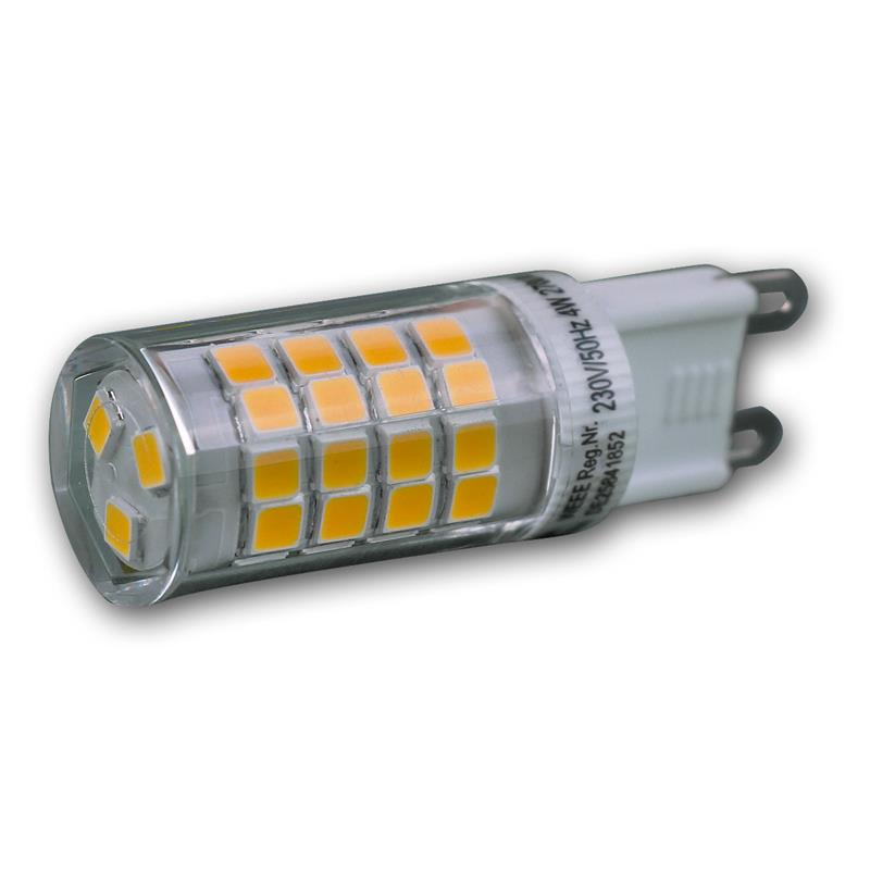 LED pin base | G9 | warm white | 230V/4W | 330° | 270lm