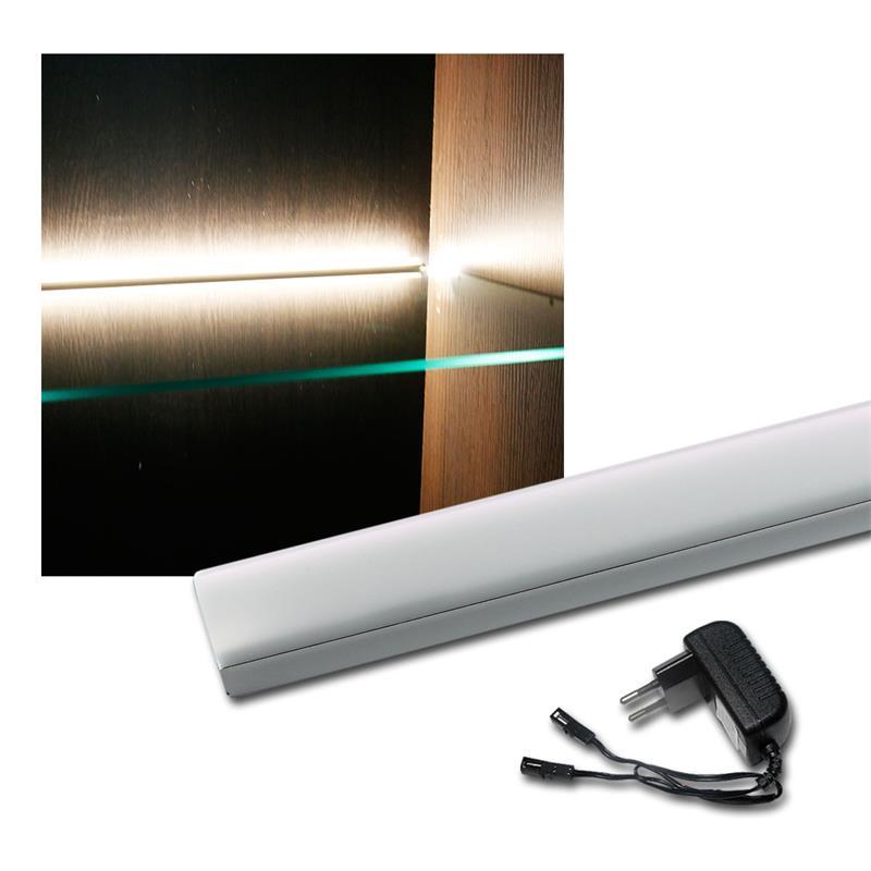 LED Glass Edge Light 361mm Warm White