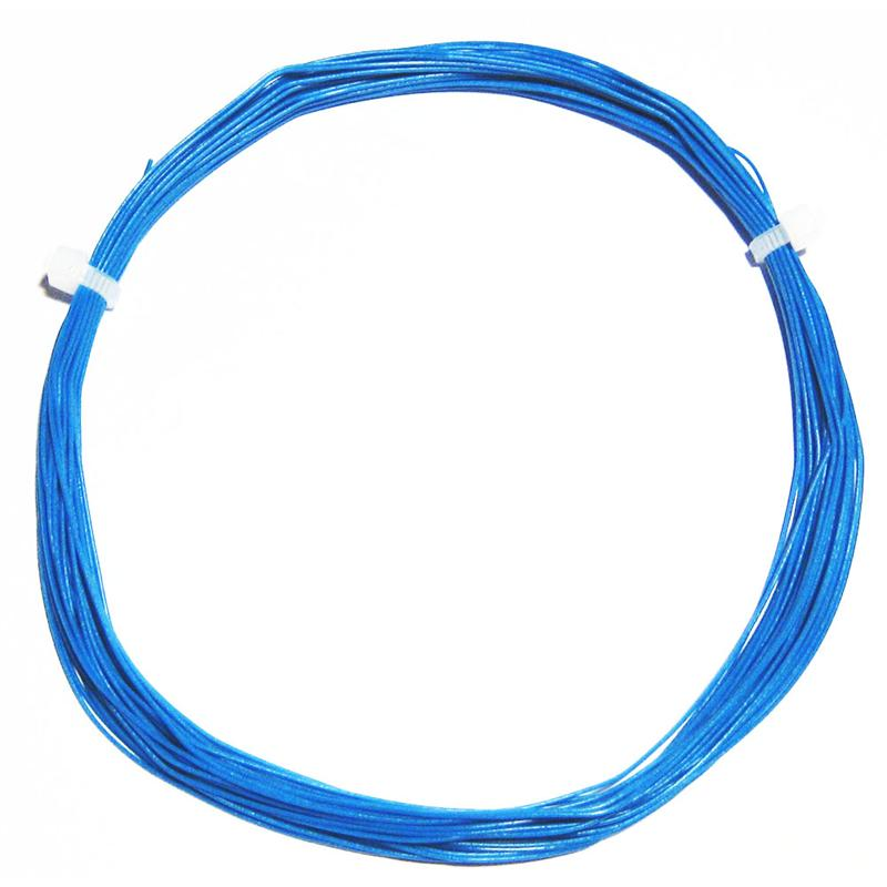 10m Litze flexibel blau 0,5mm/0,04mm²