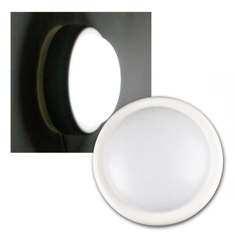 led feuchtraum leuchte wei 230v 14w 1000lm. Black Bedroom Furniture Sets. Home Design Ideas