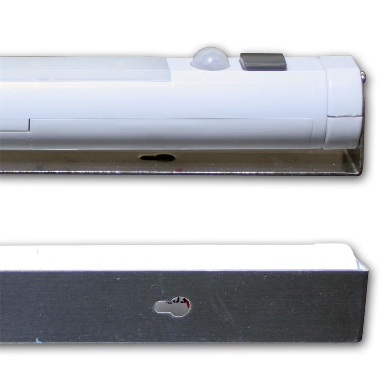 LED-Lichtleiste   PIR Bewegungsmelder   kabellos, schwenkbar