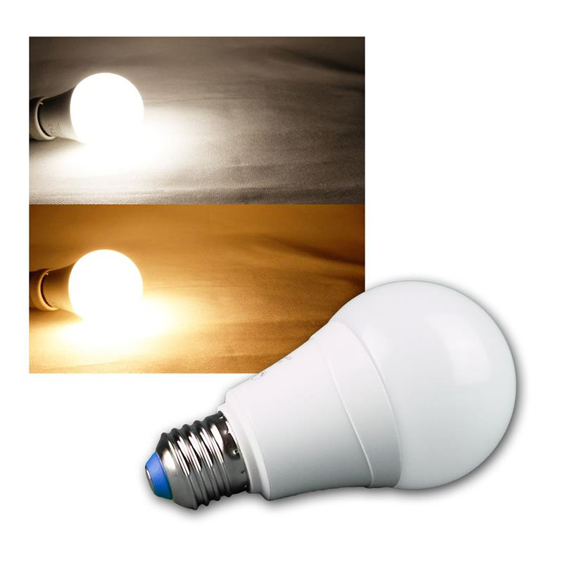 LED light bulb   A66   10W   E27   Dual Color work