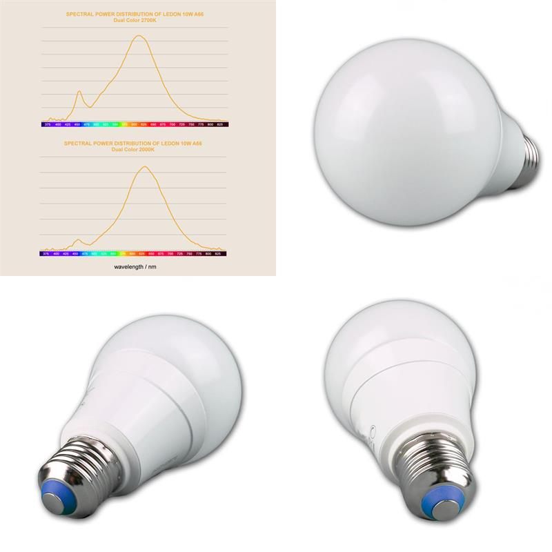 LED lamp A66 | E27 Dual Color work/relax | colour change