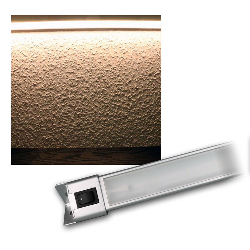 led unterbauleuchte mit schalter 30cm warmwei 4w 230v. Black Bedroom Furniture Sets. Home Design Ideas