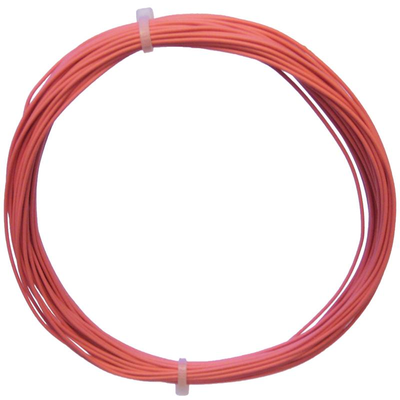 10m Litze flexibel rosa 0,14mm² - Ø1,1mm