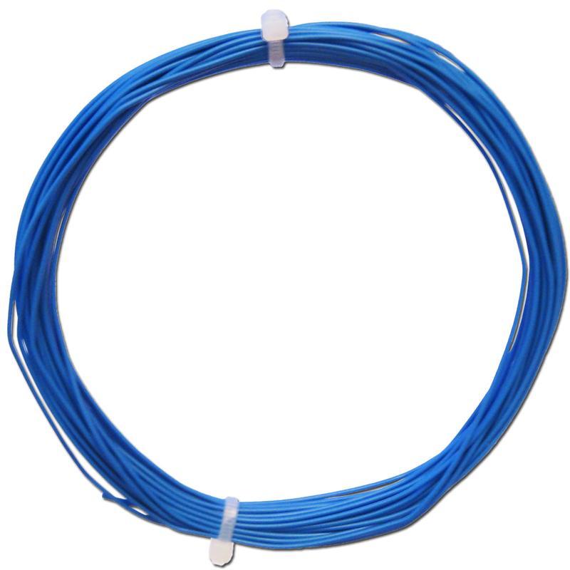 10m Litze flexibel blau 0,14mm² - Ø1,1mm