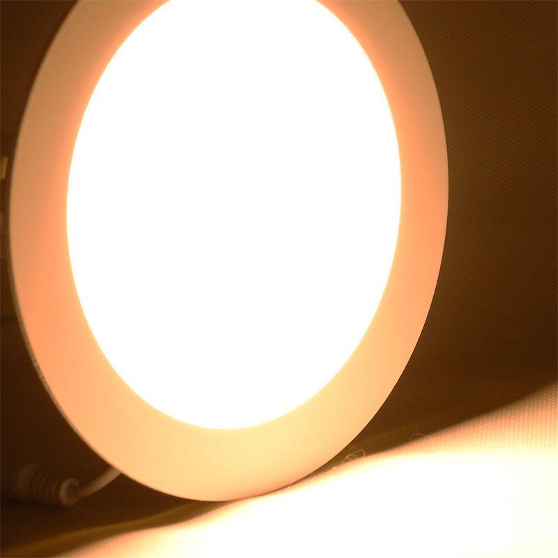 "LED Panel ""WP12-ER"" warmweiß 850lm, Ø17cm, rund"