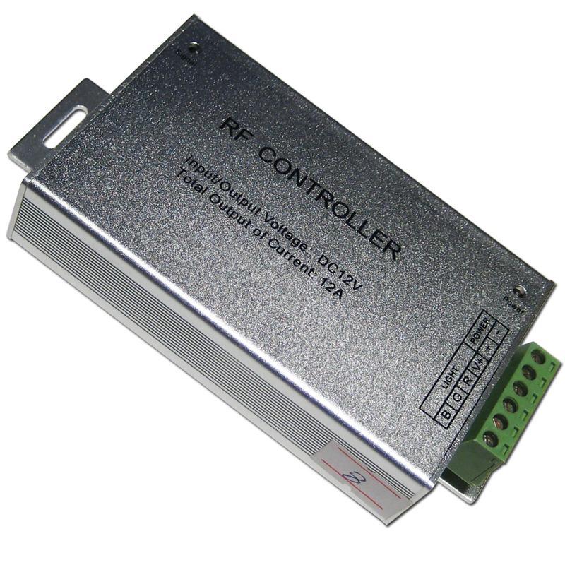 Rgb led controller 3 kanal 4a kanal fernbedienung for Koch 4 kanal led funkfernsteuerung