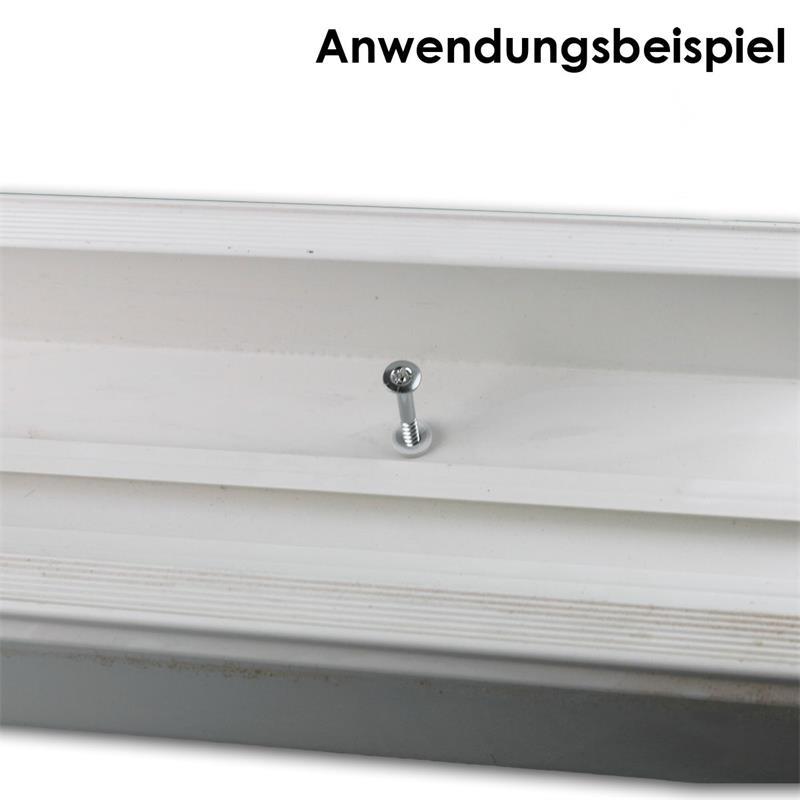 Nageldübel | 100er Pack | in 4 Größen |  Kragenkopf | Nylon